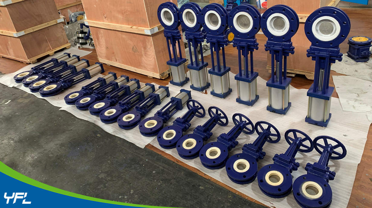 ceramic knife gate valves for gypsum slurry