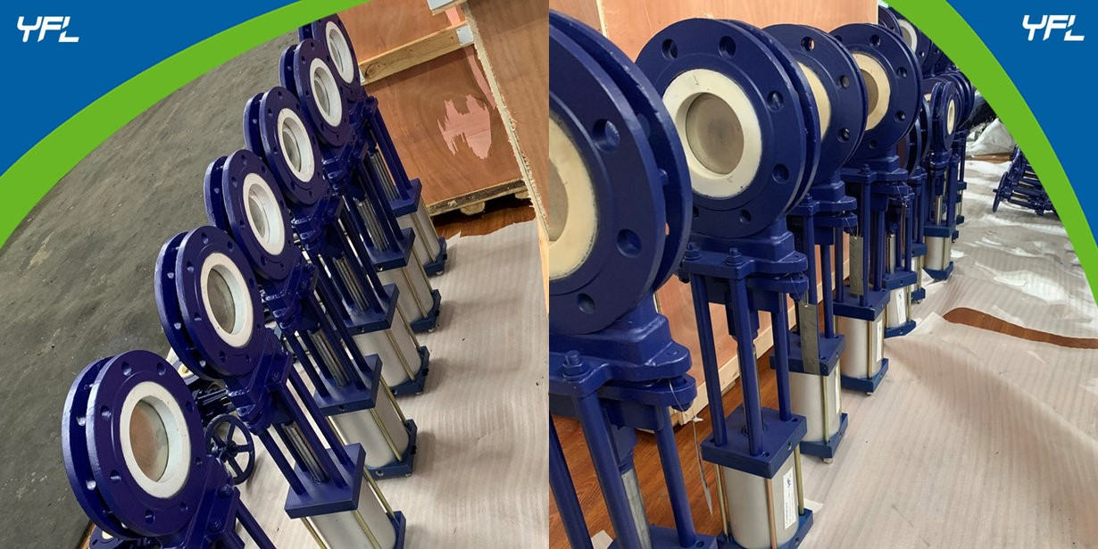 ceramic knife gate valves for limestone
