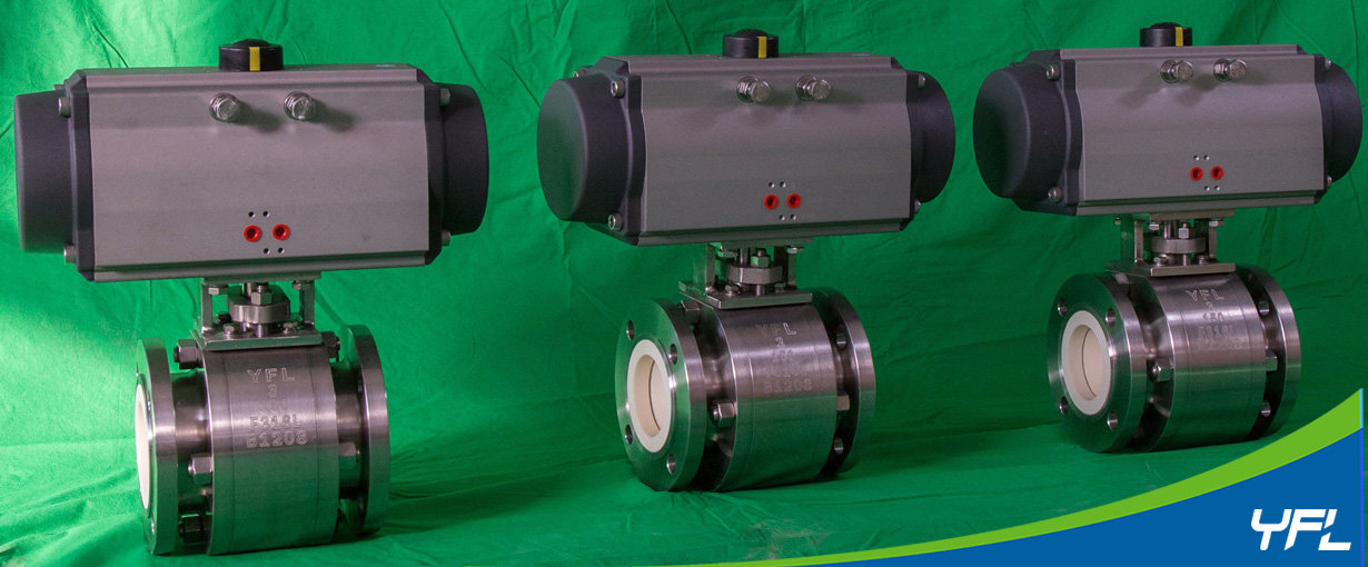 ceramic lined ball valves for nickel hydrometallurgical