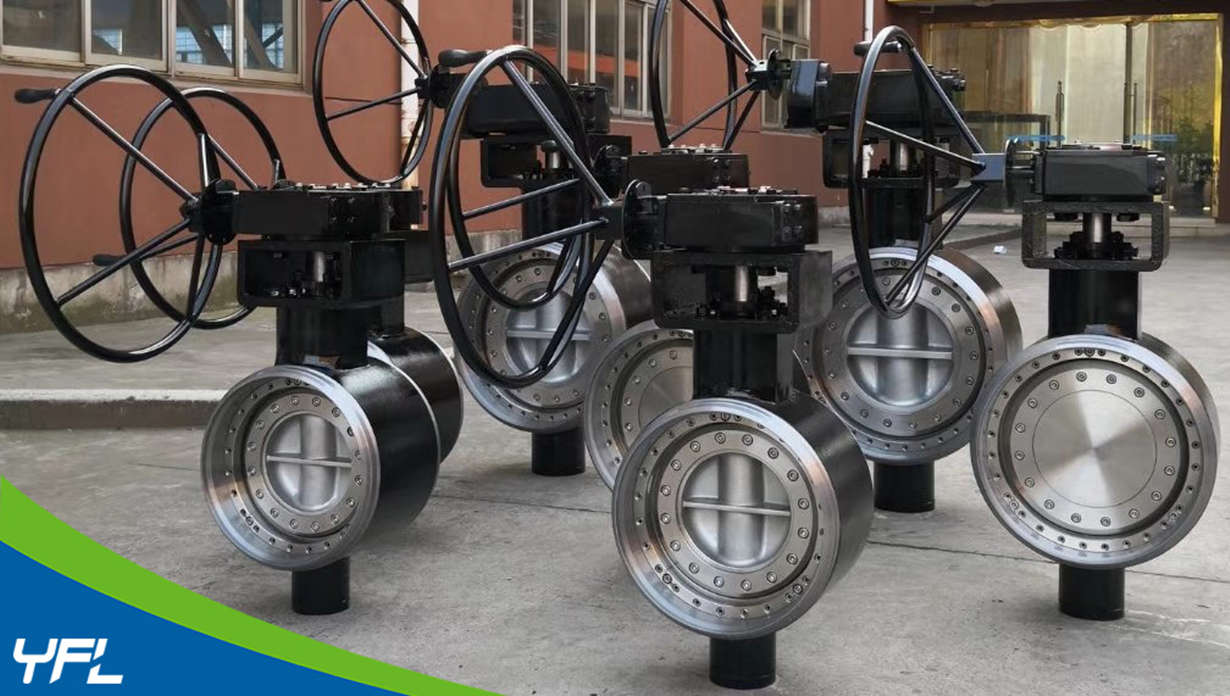 BW Ends butterfly valves for district heating