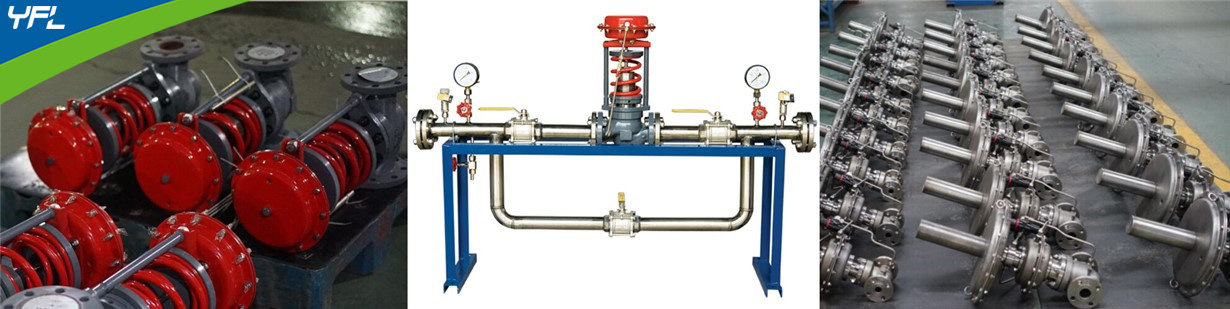 self operated pressure control valves