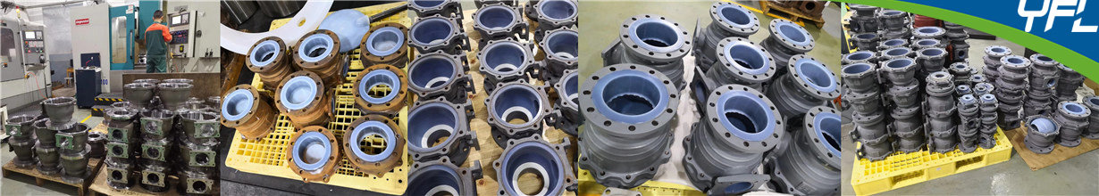 FEP PFA ball valves production