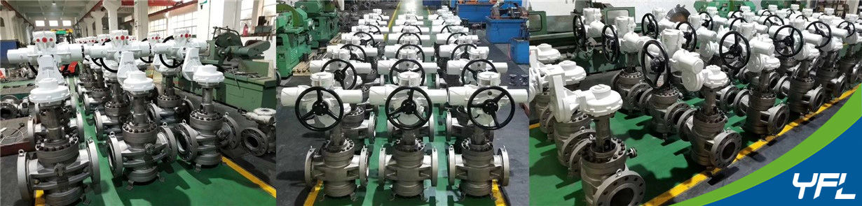 Orbit plug valves for aviation kerosene