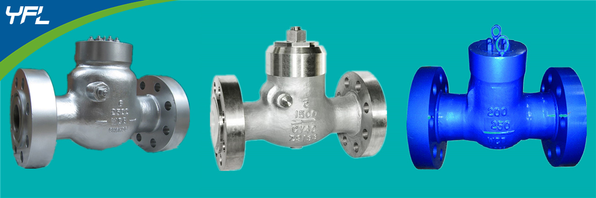 Pressure seal bonnet WC6 swing check valves, CY40 swing check valves, WC9 swing check valves