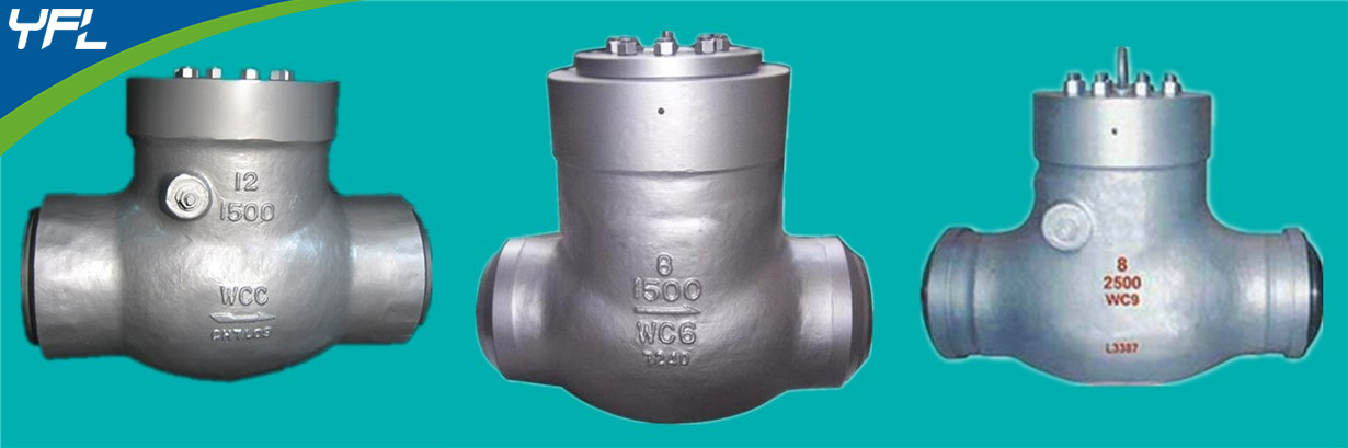 WC6 high temperature swing check valves, WC9 pressure seal swing check valves