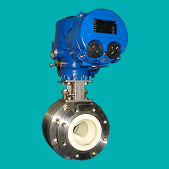 Ceramic V-Notch Ball Valves