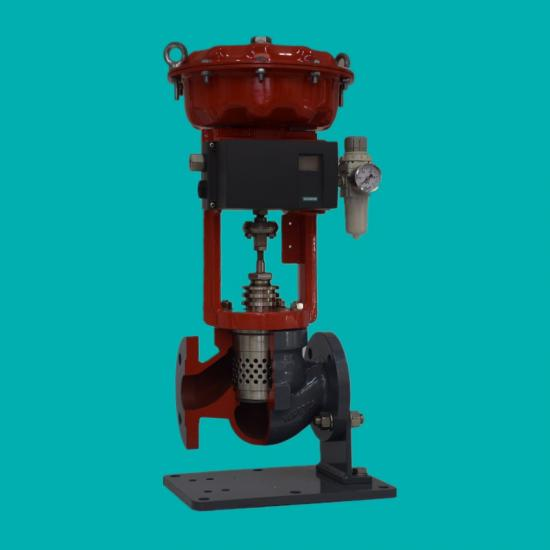 Pneumatic Low Noise Control Valves