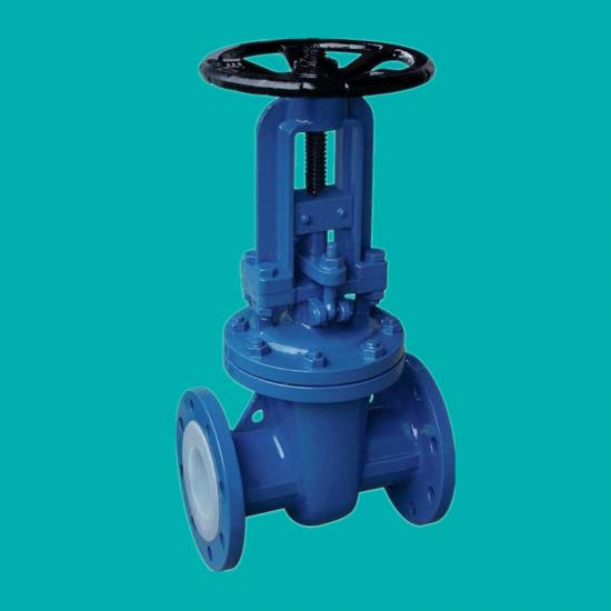 FEP lined gate valves