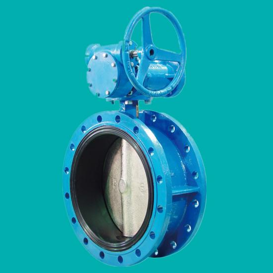 Rubber lined butterfly valves for seawater