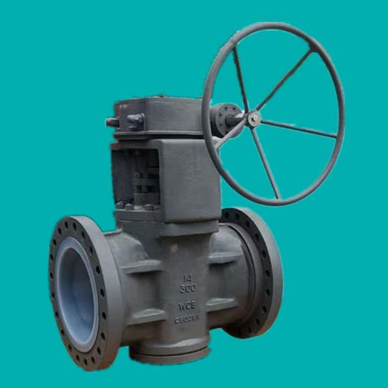 PFA lined plug valves