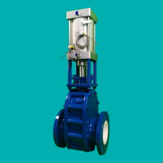 Ceramic double disc gate valves