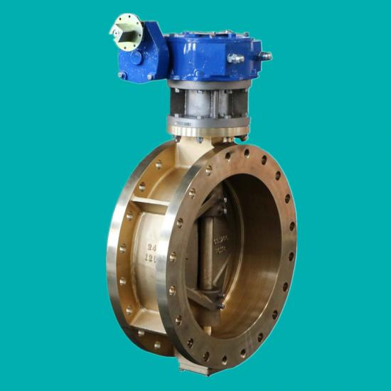 Double eccentric Al-bronze butterfly valves