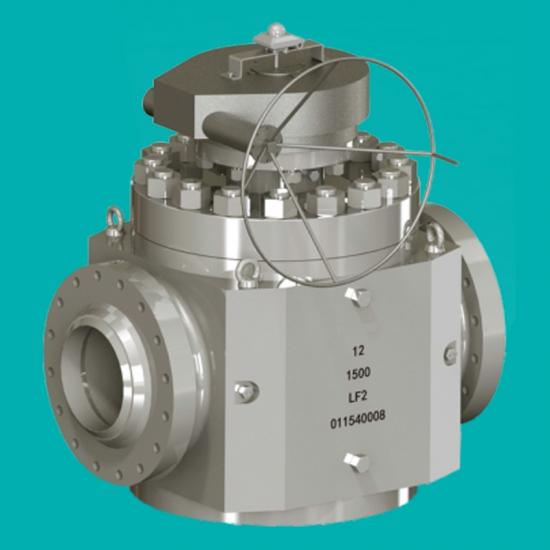 LF2 Top entry ball valves