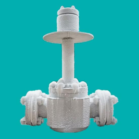 Top entry cryogenic ball valves