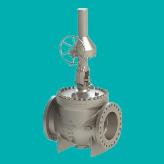 Top entry rising stem ball valves