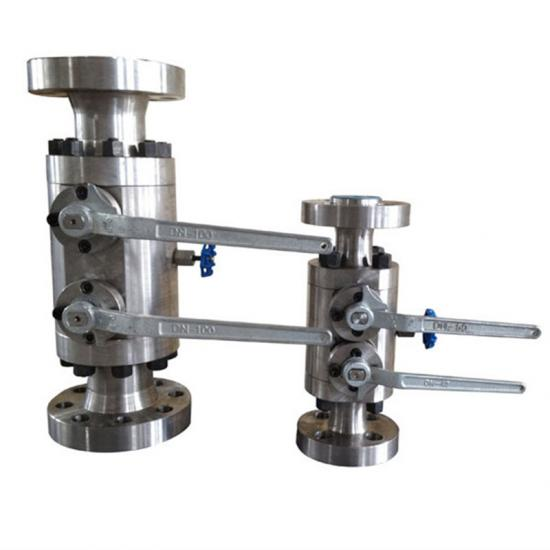 DBB twin ball valves