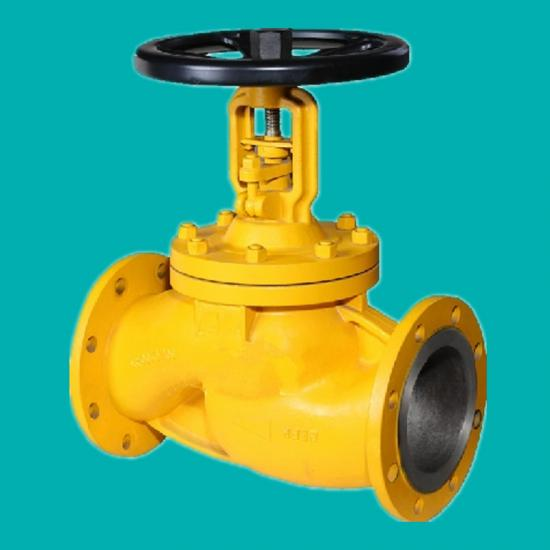 Bellows seal globe valves for chlorine