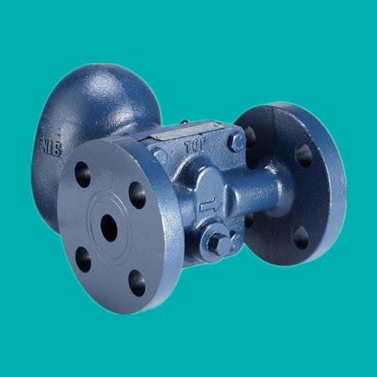 Ball float steam trap